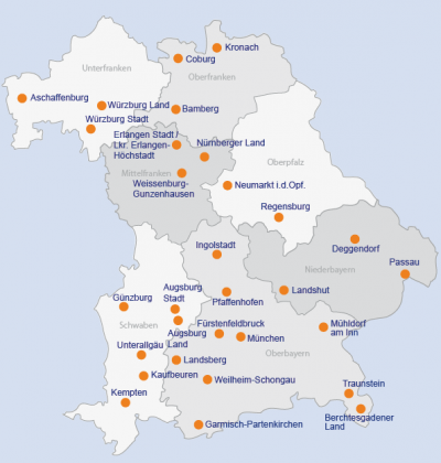 Landkreis Augsburg Karte.Elterntalk Augsburg Landkreis